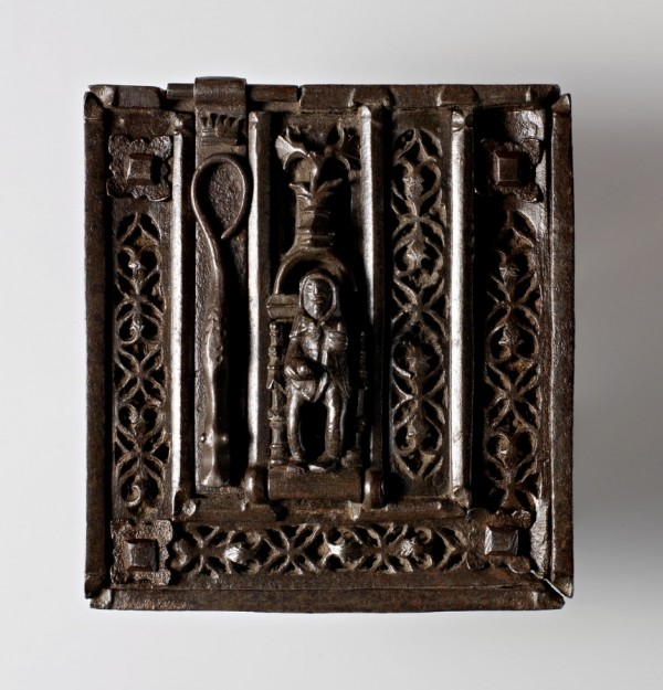 Carved and Pierced Iron Lock, France, late 15th century