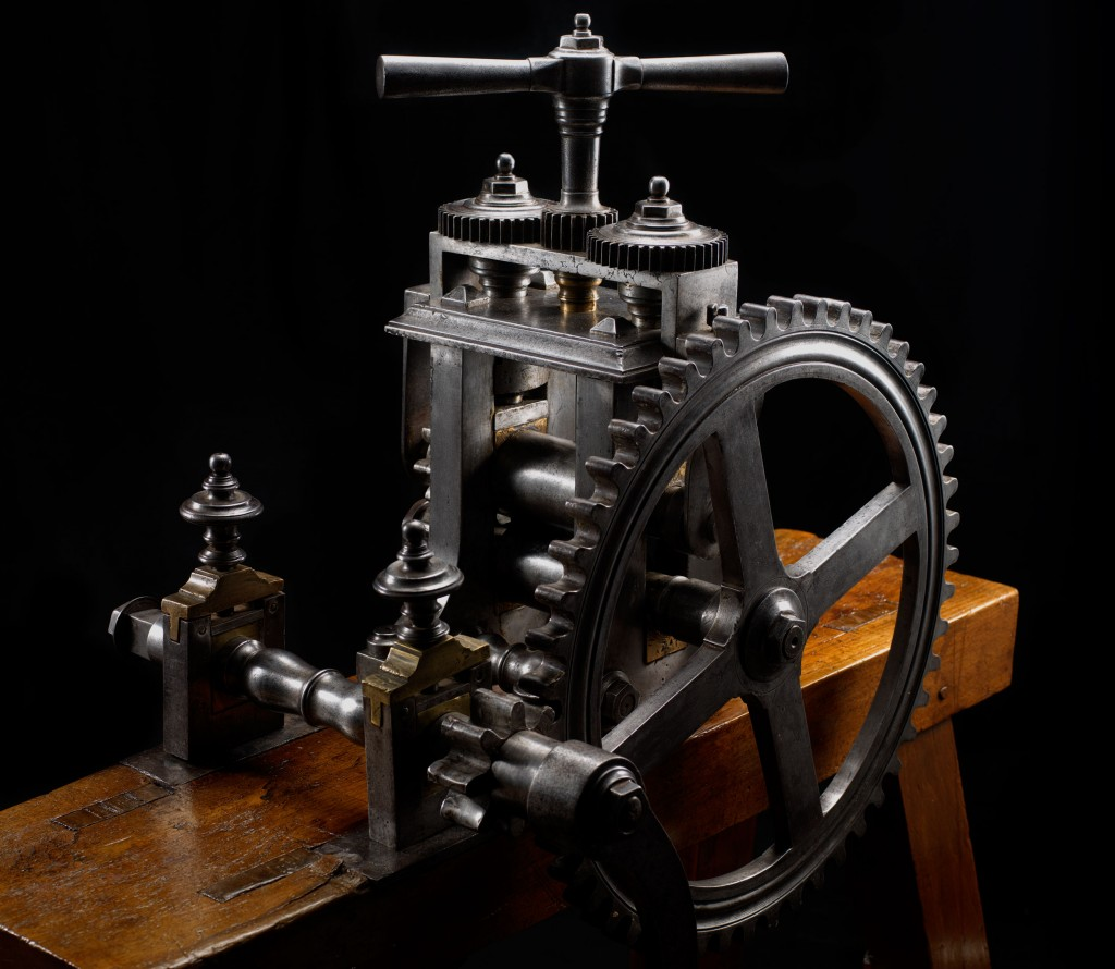 Wrought Iron and Bronze Rolling Mill | Italy mid-19th century
