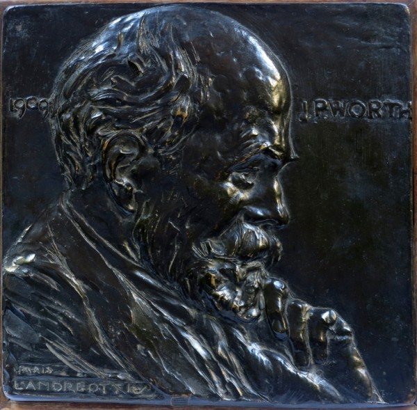 J. P. Worth: a Bronze Relief by Libero Andreotti
