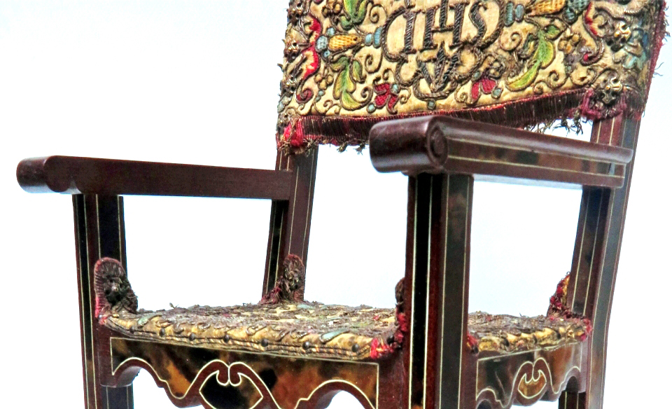 An Exquisite Miniature Armchair
