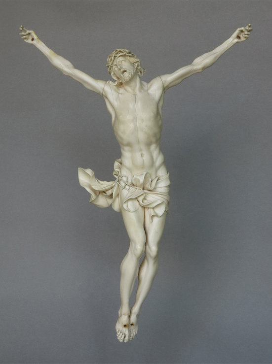 Algardi-ivory-living-christ