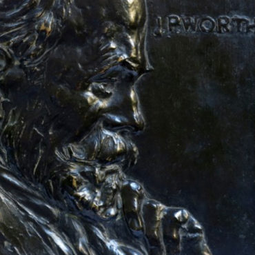 J. P. Worth: a Bronze portrait by Libero Andreotti