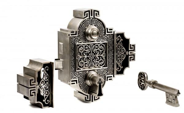 Masterpiece Lock by Paolo Acquadro. Torino, Italy. Dated 1854