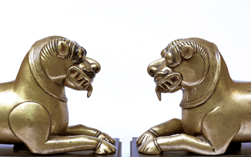 A Striking Pair of Palanquin Covers