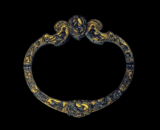 PURSE-MOUNT-iron-and-gold-Italy