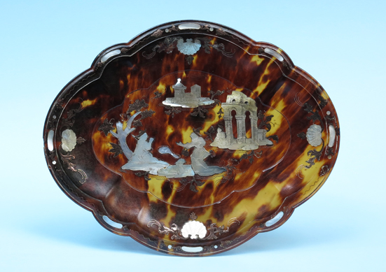 Tortoiseshell-pique-tray-comparable-item